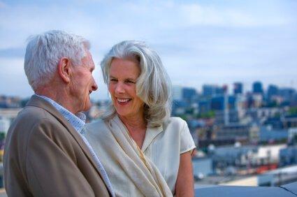 Life Settlement Happy Seniors